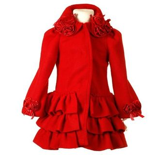 Peacoat red