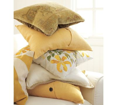 Pottery barn pillow cases