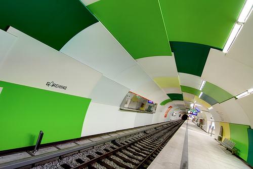 Munich U-Bahn Greens