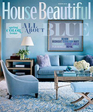 House Beautiful Magazine March 2010