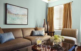 Palladian Blue Living Room Benjamin Moore