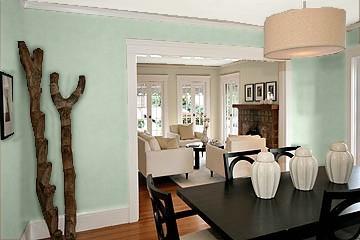 Serene Breeze Color The Adjacent Dining Room