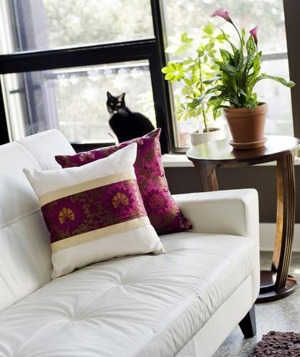 Magenta cushion corset