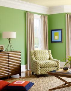 Mid Century Modern Green