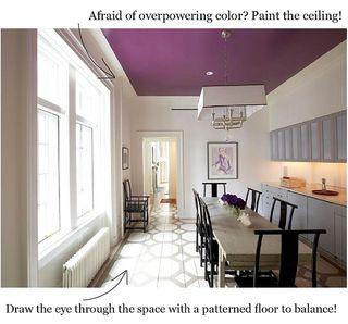 Coco kelley Purple ceiling