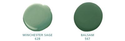 Winchester Sage 628, Balsam 567