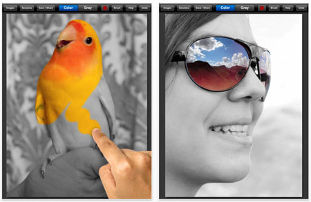 Color Splash App for iPhone