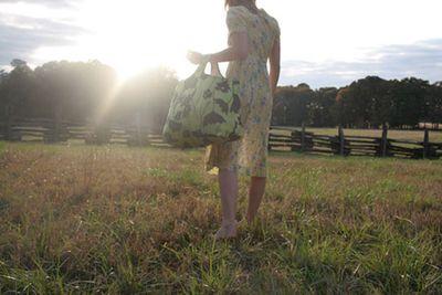 Lucy in field