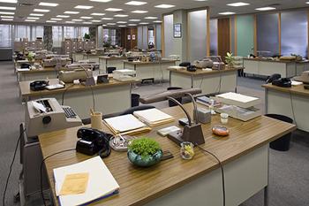 Mad Men; Sterling Cooper Offices