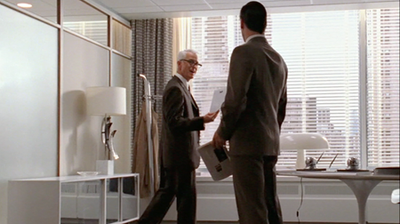 Mad Men; Roger Sterling and Don Draper