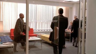 Mad Men; Sterling Cooper reception area