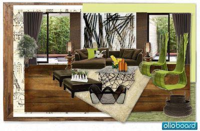 Olioboard Charisantonio Eastern Eden Green Design