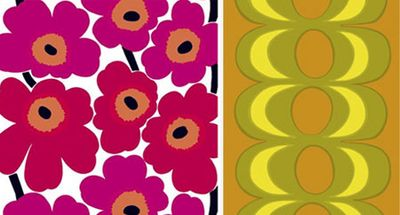 Marimekko Unikko and Kaivo by Maija Isola