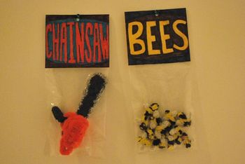 Chainsaw bees
