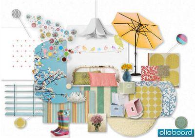 Olioboard Lielca pastel colors