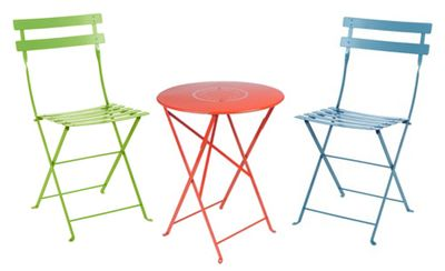 Fermob Bistro table and chairs