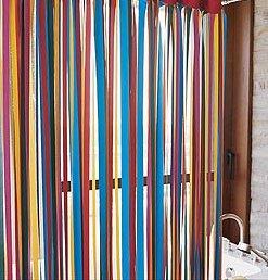Ribbon Shower Curtain
