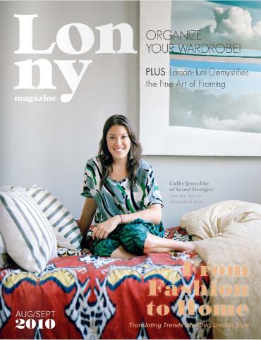 Callie Cover Lonny Mag