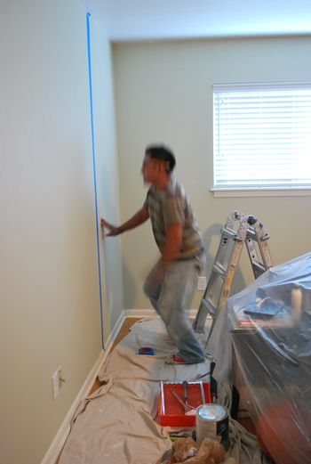 Bedroom Makeover Painting 1