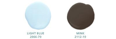 Light Blue 2066-70, Mink 2112-10