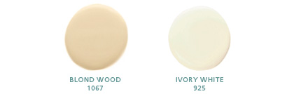 Blond Wood 1067, Ivory White 925