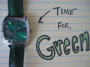 Timeforgreen