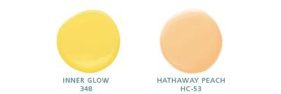 Inner Glow 348; Hathaway Peach HC-53