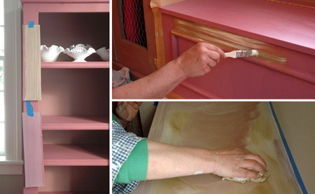 Glazing_painted_furniture