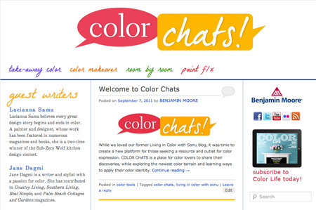 Color Chats screenshot