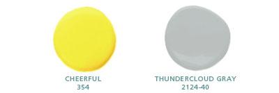 Cheerful 354, Thundercloud Gray 2124-40