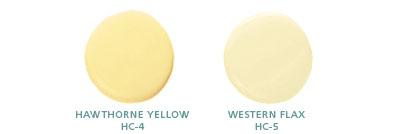 Hawthorne Yellow HC-4, Western Flax HC-5