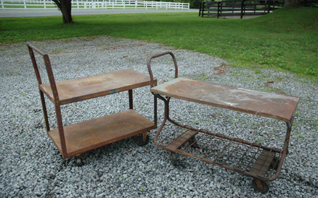 Rusted_metal_furnishings_Brimfield_find